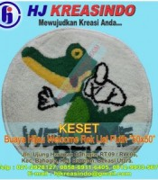 HJKREASINDO-KESET-BUAYA-HIJAU-WELCOME-REK-LIST-PUTIH-50X50-300x300