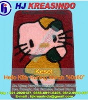 HJKREASINDO-KESET-HELLO-KITTY-KUNING-MERAH-40X60-300x300